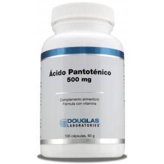 Ácido Pantoténico Douglas - 100 cápsulas