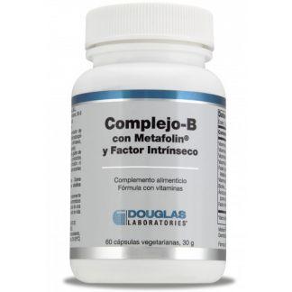 Complejo-B Metafolin Factor Intrínseco Douglas - 60 cápsulas