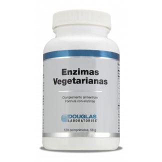 Enzimas Vegetarianas Douglas - 120 comprimidos