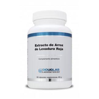 Extracto de Arroz de Levadura Roja Douglas - 90 cápsulas