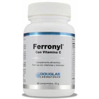 Ferronyl con Vitamina C Douglas - 60 comprimidos