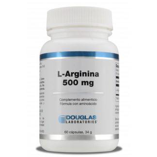 L-Arginina 500 mg Douglas - 60 cápsulas