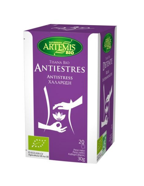 Antiestrés-T Bio Artemis Herbes del Molí - 20 bolsitas