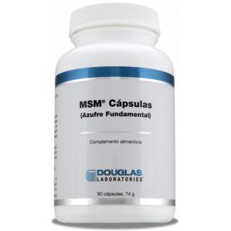MSM (Azufre Fundamental) Douglas - 90 cápsulas