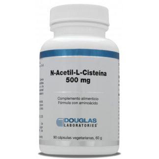 N-Acetil-L-Cisteína Douglas - 90 cápsulas