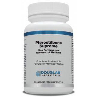 Pterostilbeno Supreme Douglas - 30 cápsulas