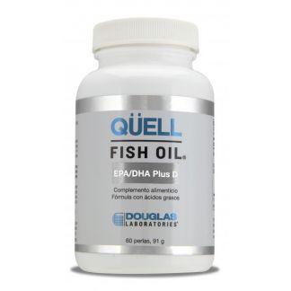 Qüell Fish Oil EPA/DHA Plus D Douglas - 60 perlas