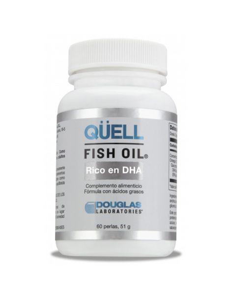 Qüell Fish Oil EPA/DHA Rico en DHA Douglas - 60 perlas