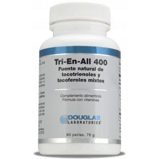 Tri-En-All (400 UI Vitamina E) Douglas - 60 perlas