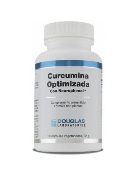 Cúrcuma Optimizada con Neurofenol Douglas - 60 cápsulas