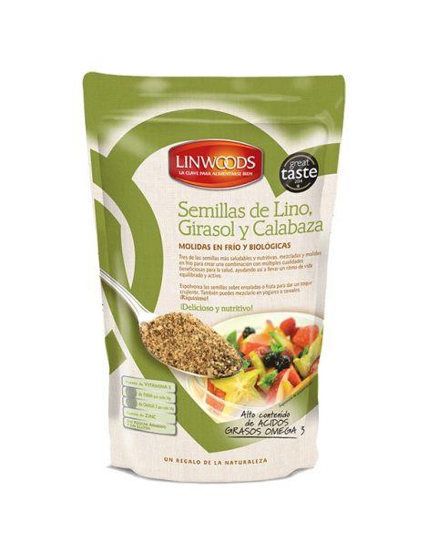 Semillas de Lino, Girasol y Calabaza Molidas Linwoods - 200 gramos