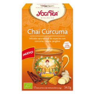 Yogi Tea Chai Cúrcuma - 17 bolsitas