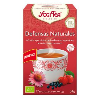 Yogi Tea Defensas Naturales - 17 bolsitas