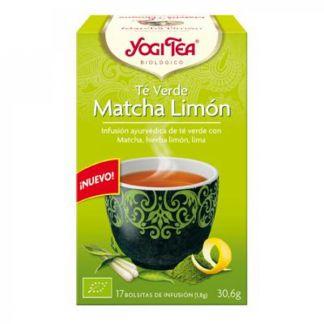 Yogi Tea Té Verde Matcha Limón - 17 bolsitas