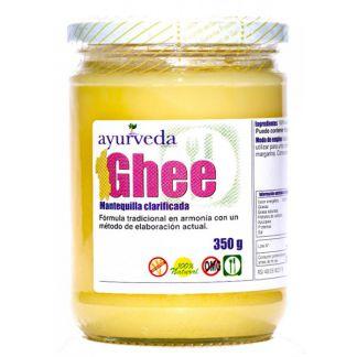 Ghee Mantequilla Clarificada Ayurveda Auténtico - 350 gramos