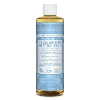 Jabón de Castilla Líquido Bebés-Neutro Dr. Bronner´s - 59 ml.