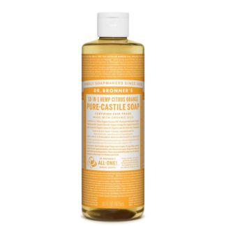 Jabón de Castilla Líquido Cítrico-Naranja Dr. Bronner´s - 59 ml.