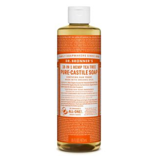 Jabón de Castilla Líquido de Árbol del Té Dr. Bronner´s - 59 ml.