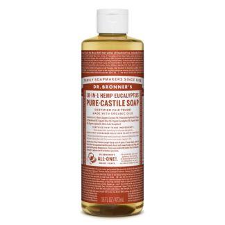 Jabón de Castilla Líquido de Eucalipto Dr. Bronner´s - 59 ml.