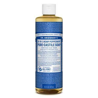 Jabón de Castilla Líquido de Menta Dr. Bronner´s - 946 ml.