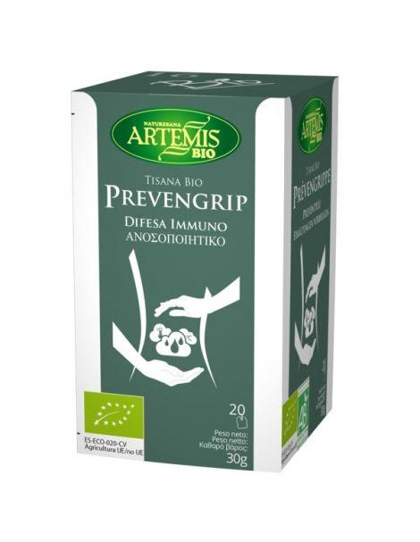 Prevengrip Bio Artemis Herbes del Molí - 20 bolsitas