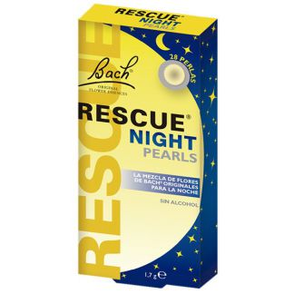 Remedio Rescate Noche (Rescue Remedy) Flores Dr. Bach - 28 perlas