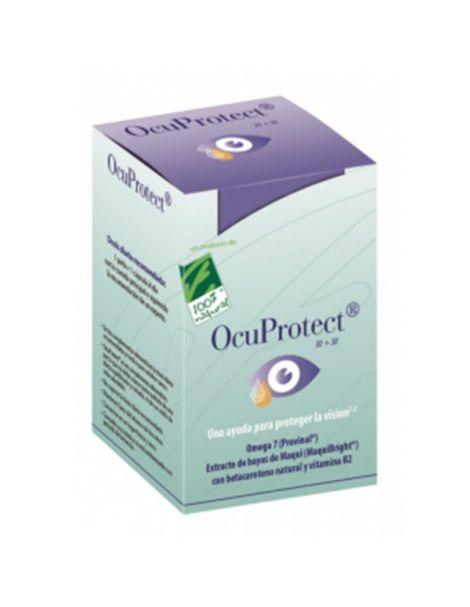 OcuProtect Cien por Cien Natural - 30 perlas + 30 cápsulas