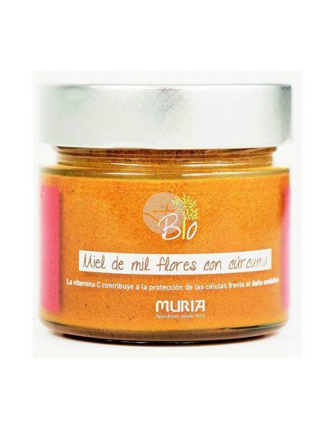 Miel con Cúrcuma Eco Muria - 250 gramos