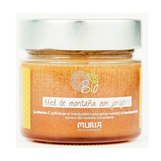 Miel con Jengibre Eco Muria - 250 gramos
