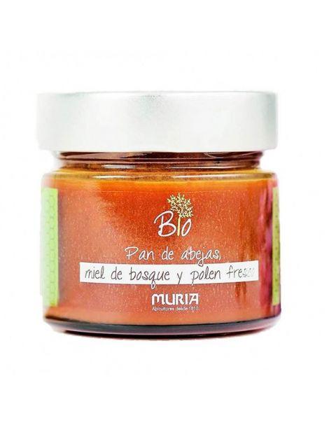 Miel con Polen Fresco Eco Muria - 250 gramos