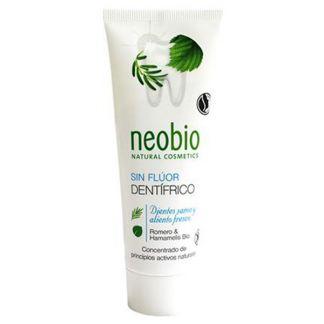 Dentífrico Romero y Hamamelis Bio Neobio - 75 ml.