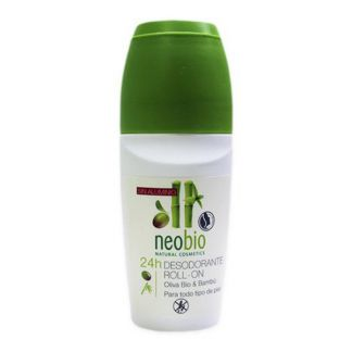 Desodorante Roll-On 24 Horas Neobio - 50 ml.