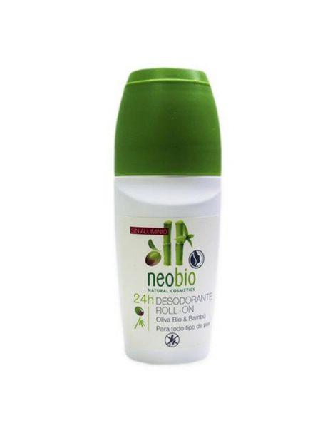 Desodorante Roll-On 24 Horas Neobio - 50 ml.