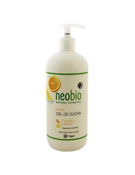 Gel de Ducha Vitality Neobio - 500 ml.