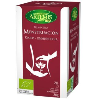 Menstruación Bio Artemis Herbes del Molí - 20 bolsitas