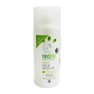 Agua Micelar 3 en 1 Neobio - 150 ml.