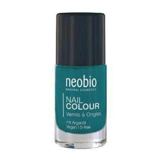 Esmalte de Uñas Precious Turquoise 09 Neobio - 8 ml.