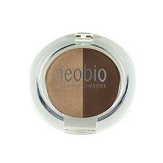 Sombra de Ojos Dúo Brown Champagne 02 Neobio - 5 gramos