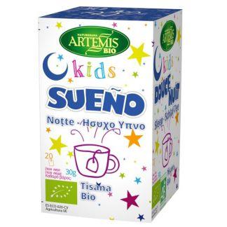 Kids Sueño Bio Artemis Herbes del Molí - 20 bolsitas