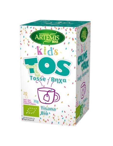 Kids Tos Bio Artemis Herbes del Molí - 20 bolsitas