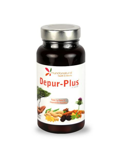 Depur-Plus Mundonatural - 60 cápsulas