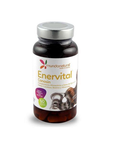 Enervital Canosin Mundonatural - 60 cápsulas