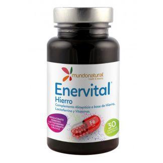 Enervital Hierro Mundonatural - 30 cápsulas
