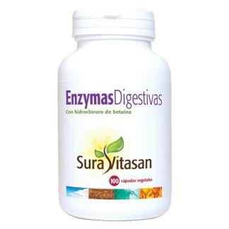 Enzymas Digestivas Sura Vitasan - 100 cápsulas