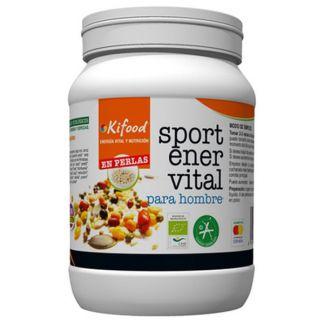 Kifood Sport Ener Vital para Hombre en Perlas - 500 gramos