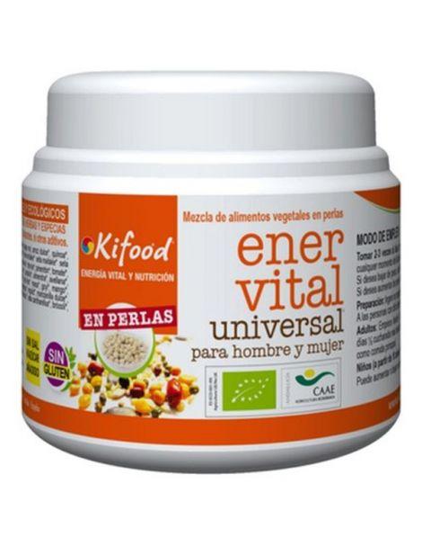 Kifood Ener Vital Universal para Hombre y Mujer en Perlas - 150 gramos