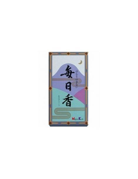 Incienso Mainichiko Musgo - caja 320 barritas