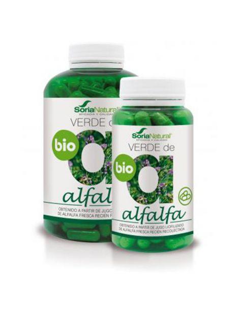 Verde de Alfalfa Soria Natural  - 240 cápsulas